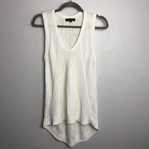 women's banana republic chunky knit top small